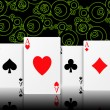 Poker aces — Stock Photo #5512950