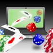 online gambling — Stock Photo #5513500