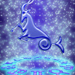 Capricorn zodiac sign — Stockfoto