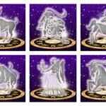 Zodiac sign set — Stock Photo