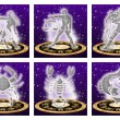 Zodiac sign set — Stock Photo