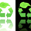 Symbols of ecology and recycling — Stock Photo #5519449