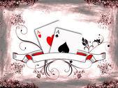 Texas hold'em poker — Stock Photo