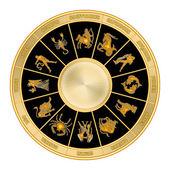 Koło zodiaku — Zdjęcie stockowe