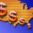 Usa dollar — Stock Photo #5523523