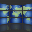 Global TV — Stock Photo #5523726
