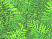 Jungle background — Stock Photo
