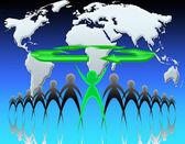 Ecología en el mundo — Foto de Stock