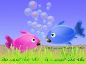 Love fish — Stock Photo