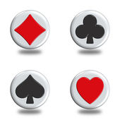 Poker signa — Stock Photo