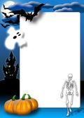 Carte d'invitation halloween — Photo