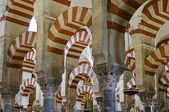 Inside the Mezquita of Cordoba, Spain — Foto Stock