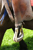 Western stirrup close-up — Stock Photo