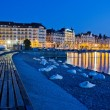 Geneva, Switzerland, Cityscape — Stock Photo