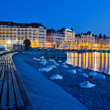 Stock Photo: Geneva, Switzerland, Cityscape