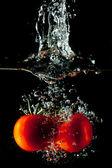 Tomato Water Splash — Stock Photo