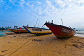 Barca da pesca malese — Foto Stock