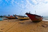Malaysian Fishing Boat — Stock Photo