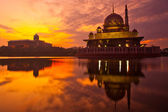 Putra Mosque Sunrise — Stock Photo