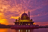 Putra Mosque Sunrise — Stock Photo
