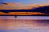 Lake Geneva Cloudscape — Stock Photo