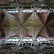 Gothic Cathedral Ceiling — Stock Photo