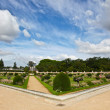 Chateau de Chenonceau&#039;s Garden - Stock Photo