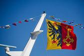 Cantón de bandera de ginebra — Foto de Stock