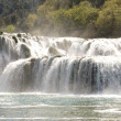 Stock Photo: Waterfall in National Park Krka