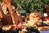 Market stall at the Harvest Festival in Mali Losinj — Stock Photo