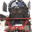 Steam locomotive 40018 - Stock Photo