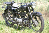 Motorcycle anno 1951 — Stock Photo