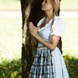 Bavarian girl at prayer — Stock Photo #6560202