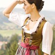 Bavarian Girl — Stock Photo #6560303