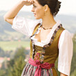 Stock Photo: Bavarian Girl