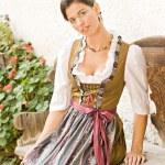 Bavarian Girl — Stock Photo #6560354