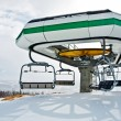Ski lift station — Stock Photo