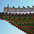 Roof of oriental royal palace — Stock Photo #5552034