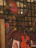 Antika instrument displayen — Stockfoto