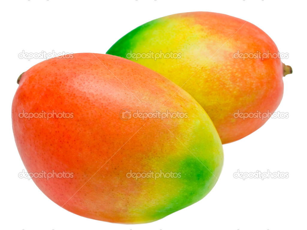 Mango isolated on white background — Stock Photo #5608636