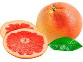 Red grapefruit — Stock Photo