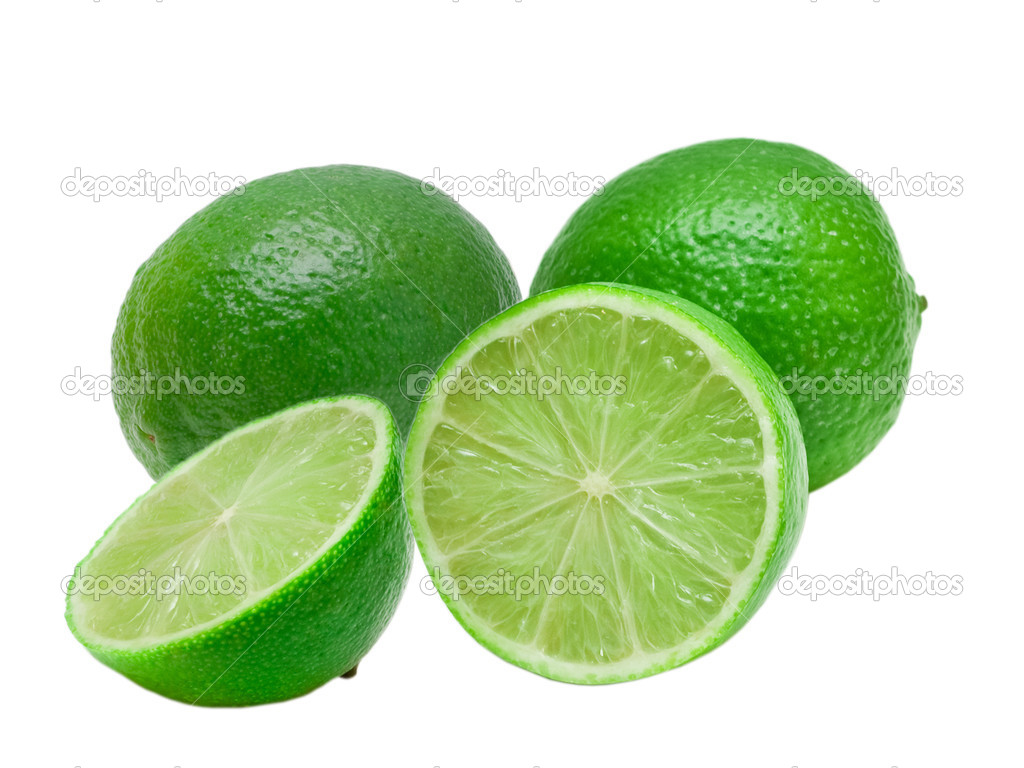 Lime isolated on white background — Stock Photo #5704124