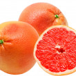 Stock Photo: Red grapefruit