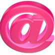 3d email symbol - Stock Photo