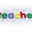Foto Stock: Teacher