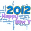 Foto Stock: Happy New Year 2012