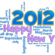 Happy New Year 2012 — Stockfoto #5612362
