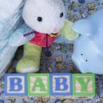 New Baby Still Life — Stock Photo #5612365