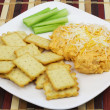 Foto Stock: Buffalo Chicken Dip