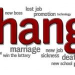 Life changes — Stock Photo